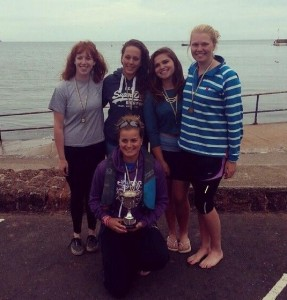 Paignton Regatta Womens Novice Fours
